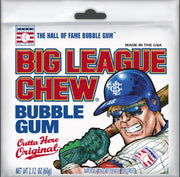BIG LEAGUE CHEW - BUBBLE GUM - 60g