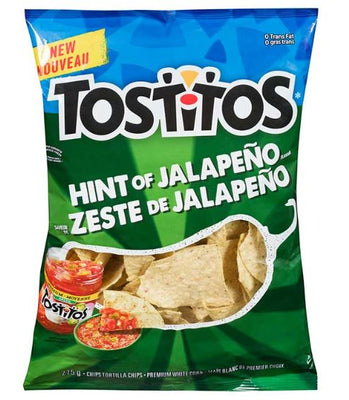 Clearance 06/19 TOSTITOS HINT OF JALAPENO- 275g