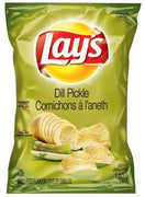 Clearance 06/19 LAY'S POTATO CHIPS - DILL PICKLE 180g