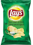 Clearance 06/19 LAY'S POTATO CHIPS - SOUR CREAM & ONION 180g