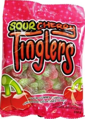 SOUR CHERRY TINGLERS  - 120g