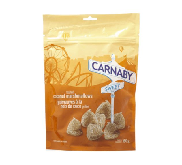 CARNABY STREET COCONUT MARSHMALLOWS - 160G