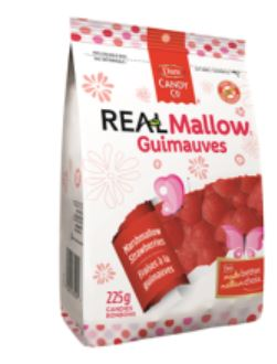 DARE REAL MARSHMALLOW STRAWBERRIES - 225G