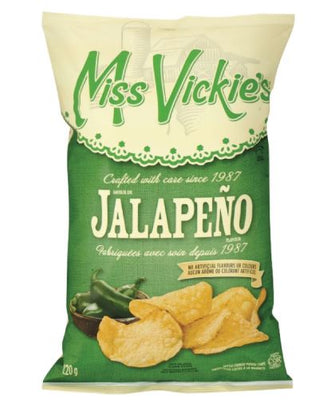 Clearance 08/19 MISS VICKIES - JALAPENO - 220g