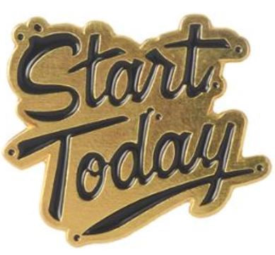 START TODAY PIN -  📌