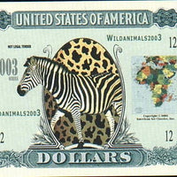 SAFARI🦒🐘  ONE MILLION FANTASY BANKNOTE 🐘🦒WILD ANIMALS💶 - Busy Bee Emporium