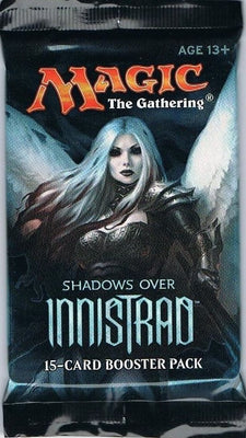 MTG: SHADOWS OVER INNISTRAD 🧛‍♂️🧙‍♂️🧝‍♂️ ENGLISH Booster Pack - Busy Bee Emporium