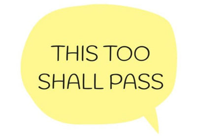 THIS TOO SHALL PASS -  A Creation By 🐝 Bee's Postcards 🐝