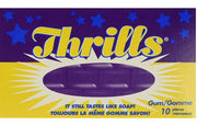 THRILLS CHEWING GUM - 1 Pack;10 pcs