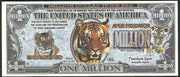 TIGERS 🐯 Fantasy Note 💶 One Million 🐯💶 Wildlife Series - Busy Bee Emporium