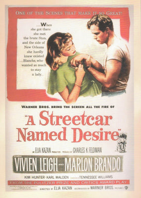 A STREETCAR NAMED DESIRE : Classic Movie
