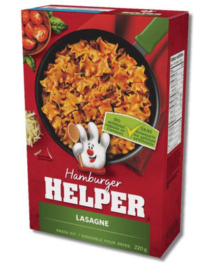 HAMBURGER HELPER- LASAGNE 220g