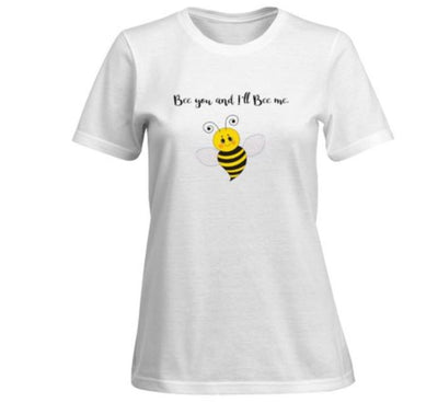 BEE YOU AND I'LL BE ME - Women's Premium t-shirts