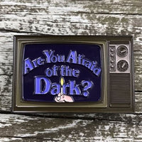 ARE YOU AFRAID OF THE DARK? 2-3cm PIN  📺 - Busy Bee Emporium