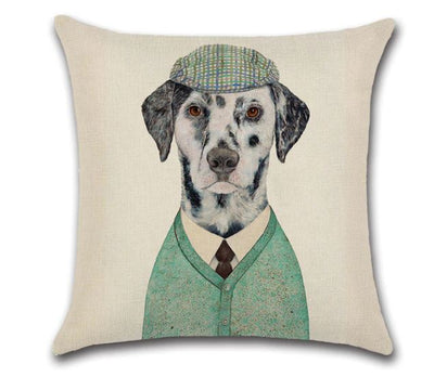 🐶DALMATIAN PILLOW COVER, Package:1 PCS Cushion Cover - Busy Bee Emporium