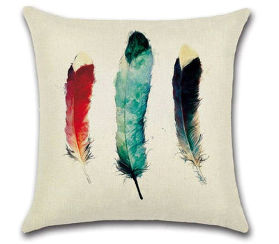 💗FEATHERS PILLOW COVER - Package:1 PCS Cushion Cover💗