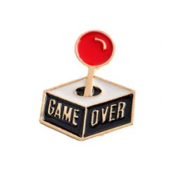 GAME OVER PIN 🕹🎮 - Busy Bee Emporium