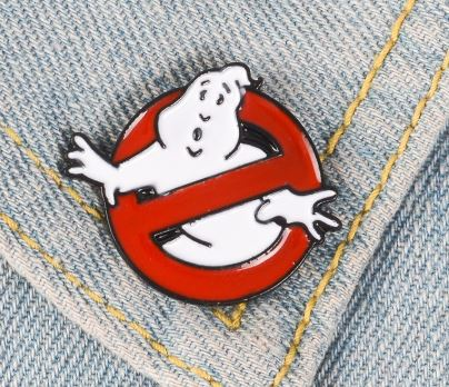 GHOST BUSTERS PIN -  👻 - Busy Bee Emporium
