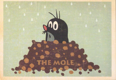 THE MOLE: COLLECTIBLE 'CARTOON' POSTCARD - Busy Bee Emporium
