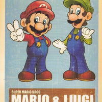 MARIO & LUIGI : VINTAGE CARTOON - Busy Bee Emporium