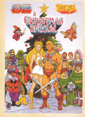 HE-MAN & SHE-RA CHRISTMAS : VINTAGE CARTOON - Busy Bee Emporium