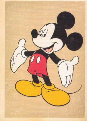 MICKEY MOUSE : VINTAGE CARTOON - Busy Bee Emporium