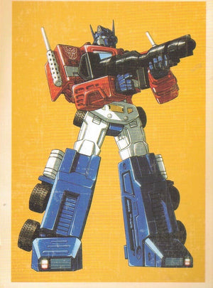 TRANSFORMERS : COLLECTIBLE 'CARTOON' POSTCARD - Busy Bee Emporium