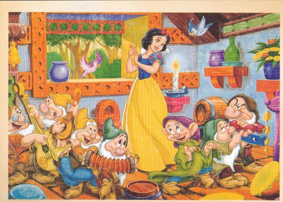 SNOW WHITE : POSTCARD - Busy Bee Emporium
