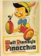 WALT DISNEY'S PINOCCHIO 🎬 CLASSIC CARTOON VINTAGE POSTCARD 📽 - Busy Bee Emporium