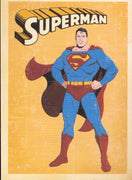 SUPERMAN : POSTCARD - Busy Bee Emporium