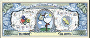 IT'S A BOY 👦👶 Million Dollar Fantasy Bank Note 💵 Baby Boy 👦👶 - Busy Bee Emporium