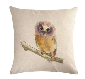 🦉 OWL PILLOW COVER, Package:1 PCS Cushion Cover🦉 - Busy Bee Emporium
