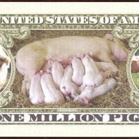 PIGS Fantasy Note 💶🐖🐷  One Million 🐽 PIGS 🐷🐖💶 - Busy Bee Emporium