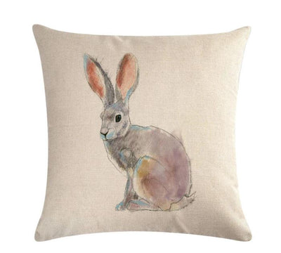🐰  RABBIT PILLOW COVER, Package:1 PCS Cushion Cover🐰 - Busy Bee Emporium