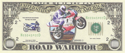 ROAD WARRIOR 2002 💶🏍 One Million Fantasy Money 🏍💴 Need for Speed