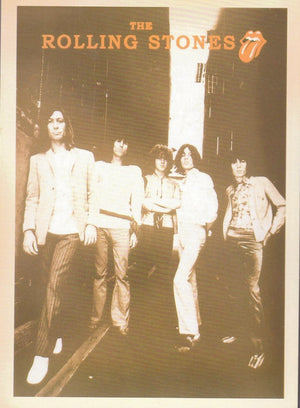 THE ROLLING STONES: COLLECTIBLE 'ARTIST' POSTCARD - Busy Bee Emporium
