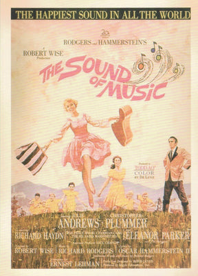 THE SOUND OF MUSIC: COLLECTIBLE 'MOVIE' POSTCARD - Busy Bee Emporium