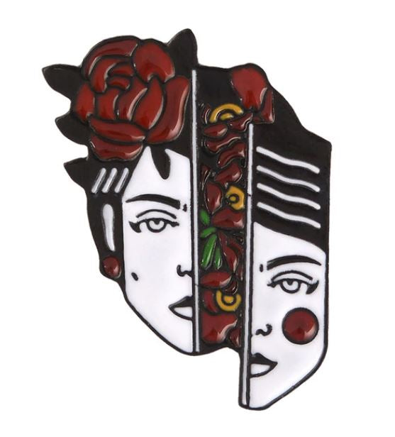 🌹 SPLIT FACED LADY - PIN 🌹 - Busy Bee Emporium