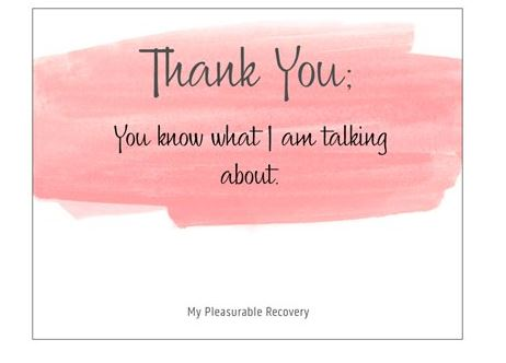 THANK YOU Notecard (139mm x 107mm) - Busy Bee Emporium
