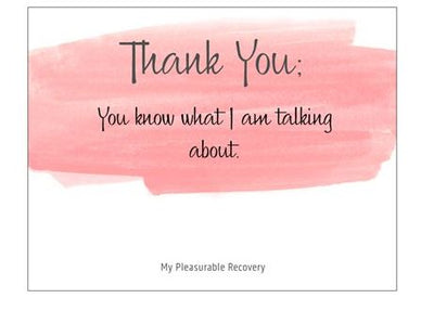 THANK YOU Notecard (139mm x 107mm)