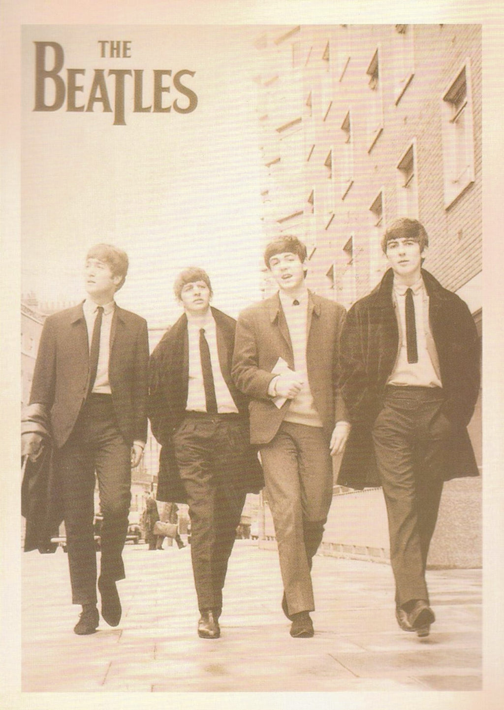 THE BEATLES: COLLECTIBLE 'ARTIST' POSTCARD - Busy Bee Emporium