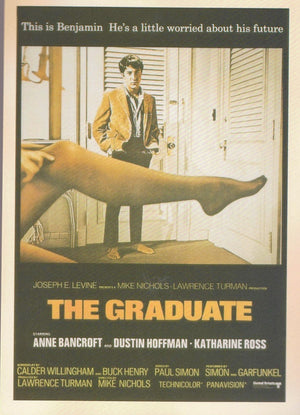 THE GRADUATE: COLLECTIBLE 'MOVIE' POSTCARD - Busy Bee Emporium