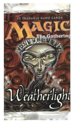 MTG: WEATHERLIGHT 🧙‍♂️🧝‍♂️ ENGLISH Booster Pack - Busy Bee Emporium