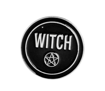 WITCH PIN -  🧹