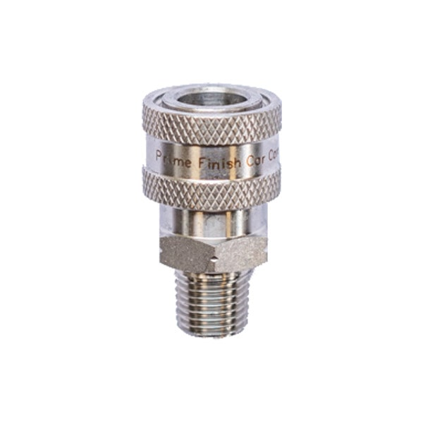 "NPT 1/4"" Male Stainless Quick Disconnect Coupler - Prime Finish Car Care"