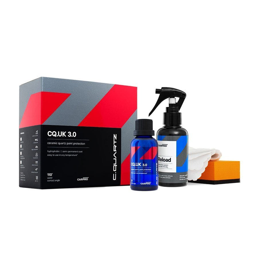 CQuartz UK Edition 3.0 Ceramic Coating 50ml Kit - Prime Finish Car Care