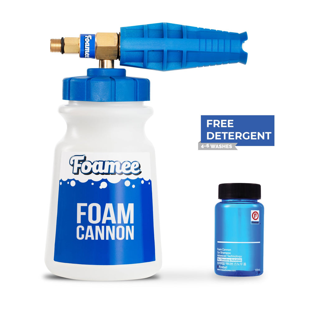 Foamee Snow Foam Cannon - with FREE 100ml Fireball Premium Active Snow Foam - Prime Finish Car Care