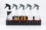 Spray Bottle Rack With Hanger Attachments