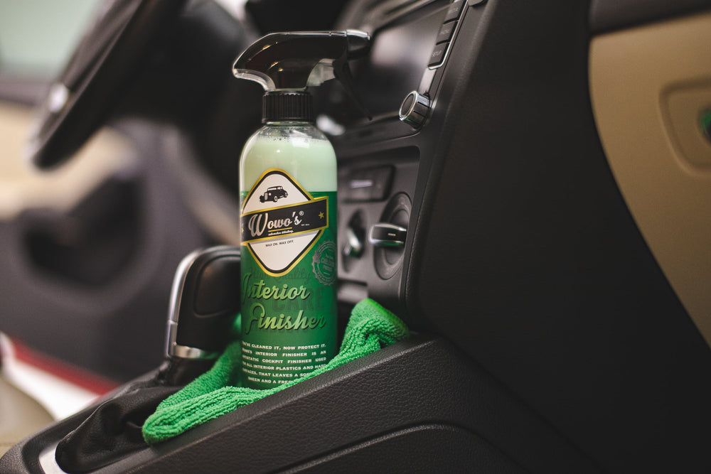 Wowo's Interior Finisher - Prime Finish Car Care