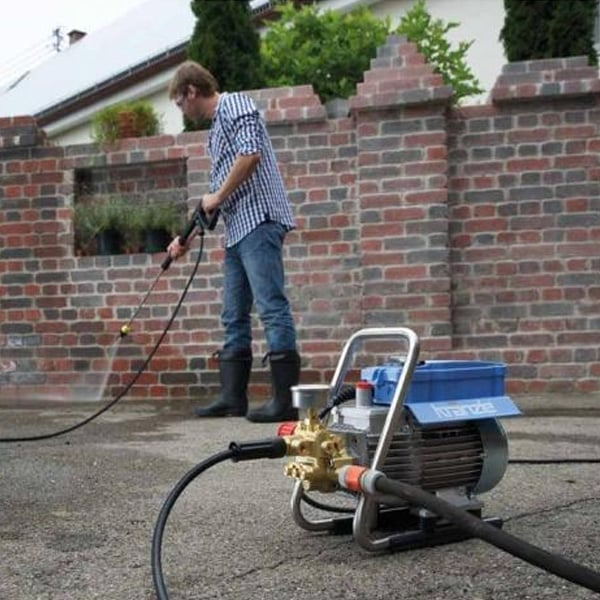 Kranzle KHD7/122TS Portable Electric Pressure Washer with Total Stop - Prime Finish Car Care